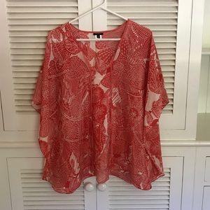 Talbots Silk Blouse Size S/M